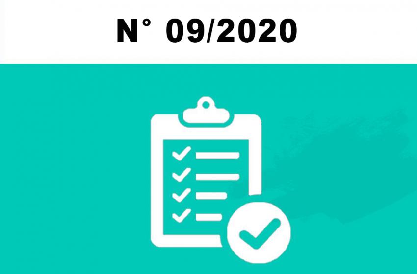 Edital de Retificação Nº 09/2020 de Concurso Público