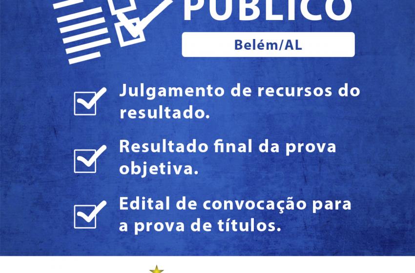 Concurso Público – Edital de Convocação para a prova de títulos